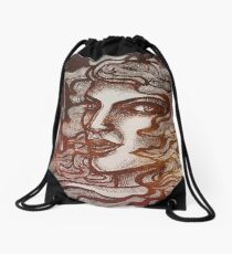 The Flame Within Drawstring Bag