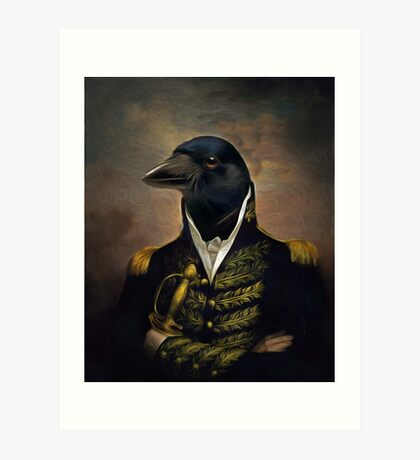 General William Crowing Cawison Art Print