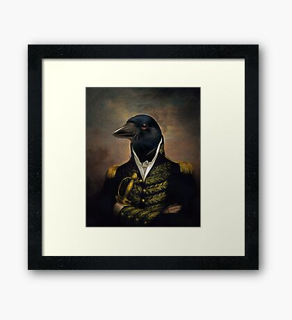 General William Crowing Cawison Framed Print