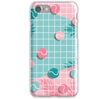 Shot Caller - memphis throwback palm springs country club tennis athlete pro sports 1980s retro city iPhone Case/Skin