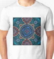 Dot painting meets mandalas 16-1 Unisex T-Shirt