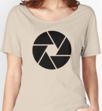 Photographer Photography Lens Women's Relaxed Fit T-Shirt