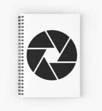 Photographer Photography Lens Spiral Notebook
