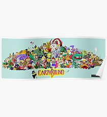 Earthbound Poster - Good Friends, Bad Friends Poster