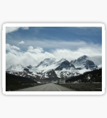 Icefields Parkway, Canada Sticker
