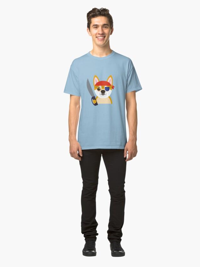 Alternate view of The Captain Shiba Classic T-Shirt