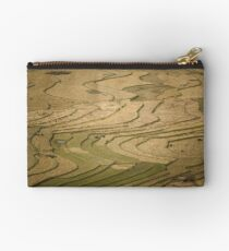 Terraced Rice fields, Tu Le Valley, Vietnam Studio Pouch