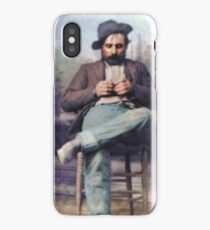 "Harvey Logan--""the fastest gun in the West"" iPhone Case"