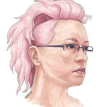 Pink Hair by Tabita
