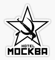 Pegatina Black Lagoon Hotel Moscow