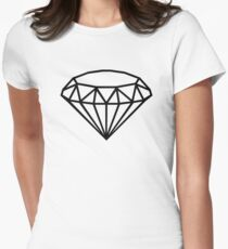 Diamond Women's Fitted T-Shirt