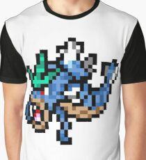 Pokemon 8-Bit Pixel Gyarados 130 Graphic T-Shirt