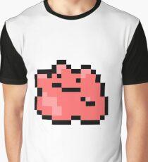 Pokemon 8-Bit Pixel Ditto 132 Graphic T-Shirt