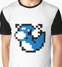 Pokemon 8-Bit Pixel Dratini Graphic T-Shirt