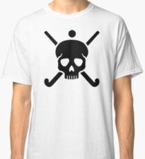 Field hockey skull Classic T-Shirt