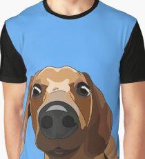 Judging dachshund Graphic T-Shirt