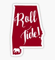 Roll Tide Alabama Sticker
