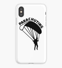 Parachuting iPhone Case