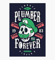 Plumber Forever Player 2 Photographic Print