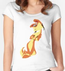 Jak and Daxter-Daxter(No eyes variant) Women's Fitted Scoop T-Shirt