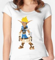 Jak-Jak and Daxter The precursor legacy  Women's Fitted Scoop T-Shirt