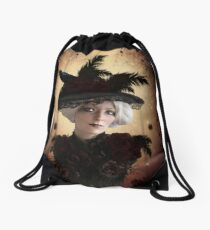 Forest Witch Drawstring Bag