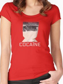 Cocain Women's Fitted Scoop T-Shirt
