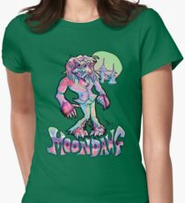 Moon Dawg! Women's Fitted T-Shirt
