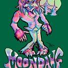 Werewolf Wolfman Moon Dawg! by HoneyDawwwg