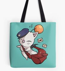 Delivery Moogle - Final Fantasy Tote Bag