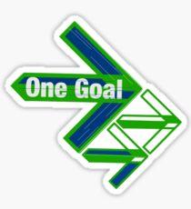 One Goal 2 Sticker