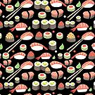 delicious Japanese sushi   by Tanor