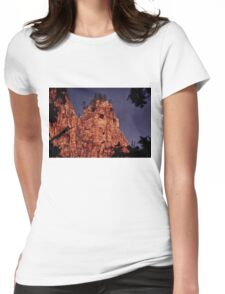 Howl at the Moon Womens Fitted T-Shirt