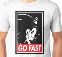 GO FAST Unisex T-Shirt