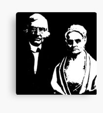 James and Luctretia Mott Canvas Print