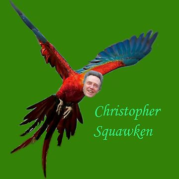Christopher Squawken by dalmatiamerican