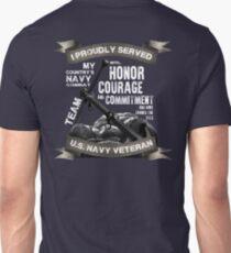 U.S. NAVY: VETERAN Unisex T-Shirt