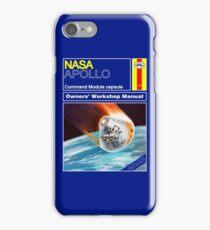 Owners Workshop Manual - NASA Apollo iPhone Case/Skin