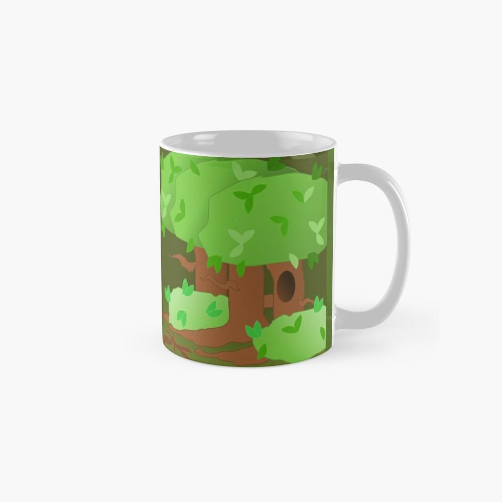 Gruselige Wälder Tassen