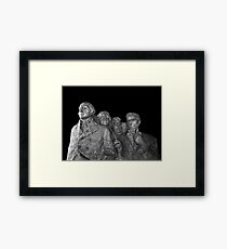Mount Rushmore National Memorial Scale Model Framed Print