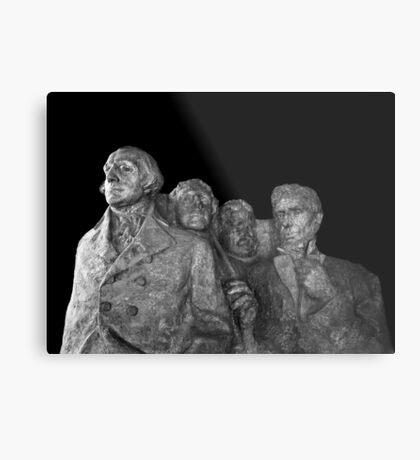 Mount Rushmore National Memorial Scale Model Metal Print