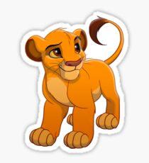 Pegatina Simba