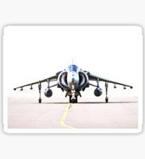 RAF Harrier head-on Sticker