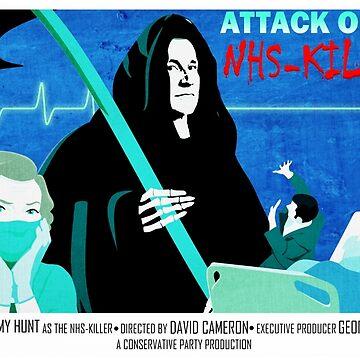 Jeremy Hunt  B-Movie Monster by herderofcats