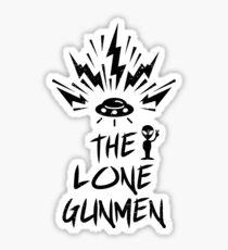 The Lone Gunmen Punk Rock Revival Sticker