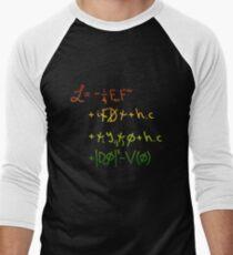 """Universe Lagrangian. """"j"""" Men's Baseball ¾ T-Shirt"""