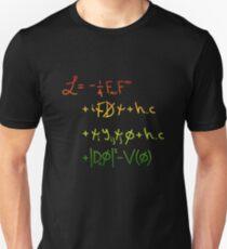 """Universe Lagrangian. """"j"""" Unisex T-Shirt"""