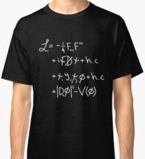 "Camiseta clásica Universo Lagrangiano. ""w"""
