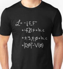 Camiseta ajustada Universo lagrangiano. & quot; w & quot;