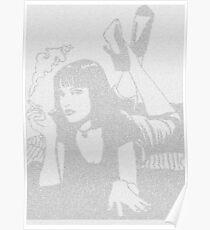 Pulp Fiction Mia Script Poster